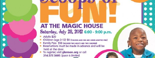 Giveaway: Win 2 Family Passes for Scoops of Fun at the Magic House 7/28