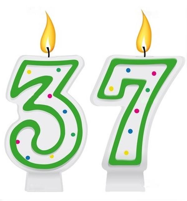 Поздравление день рождения на 37 лет