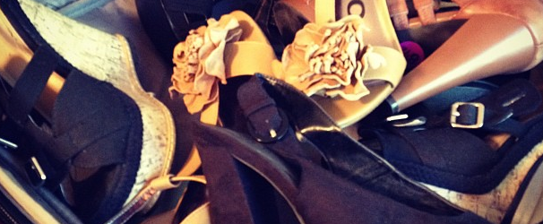 I'm Heading to BlogHer '12: A Girl Can't Have Too Many Shoes