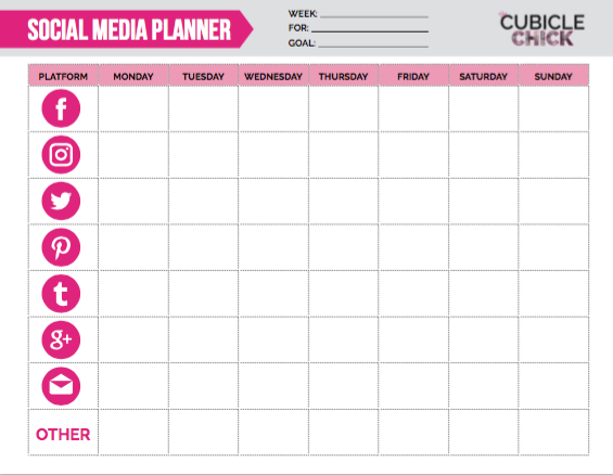 Need some help with your social media strategy? Download my free social media planner which can help you plan out your content while staying organized.