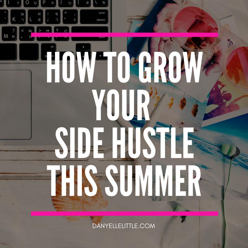 Don't count the summer out, as it can be a great time to hustle. Get my tips on how to grow your side hustle this summer and say YES to profit.