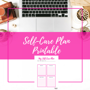 Taking care of yourself should be a priority, and my self care plan can help you make sure it gets done.