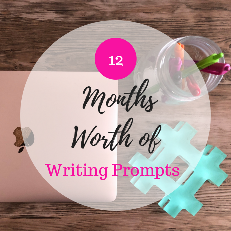 Do you need some help with blog post ideas? My free printable of 12 months worth of writing prompts can help get your creative juices flowing.