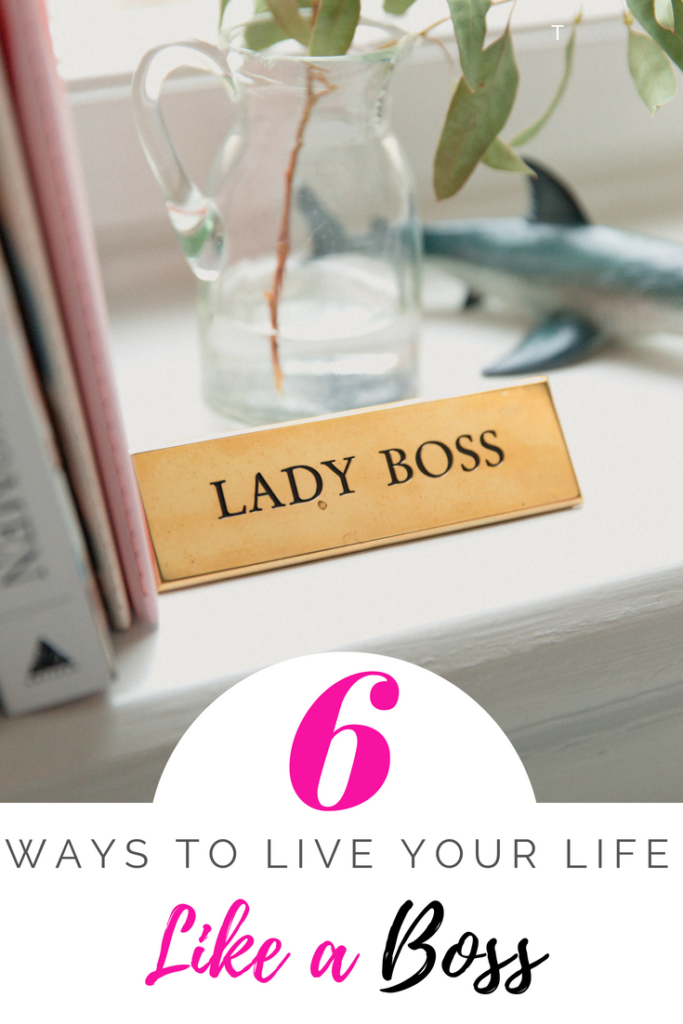 Being a true Boss isn't about a title, but how you conduct yourself and how you treat others. I'm sharing Six Ways to Live Your Life Like a Boss.