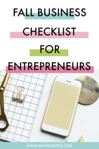 Autmnn is the most lucrative time for many small businesses. Download my free Fall Business Checklist for Entrepreneurs, and rock it out.